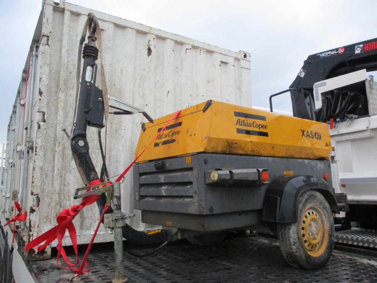 Matériel de chantier Atlas copco XAS 47 Compresseur