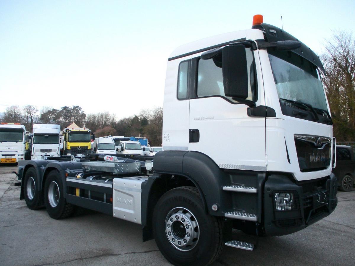 Camion MAN TGS 33.460 Polybenne