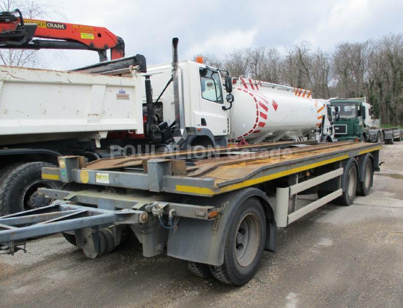 Remorque Samro Porte caissons Porte containers