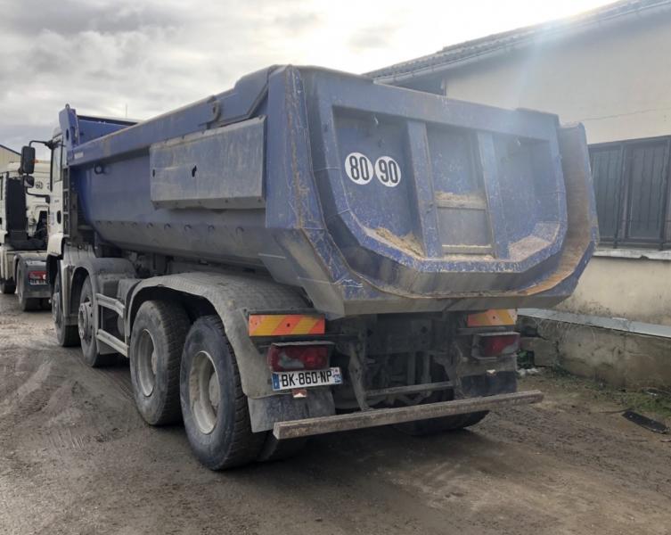 Camion MAN TGA 35.390 Benne Benne TP
