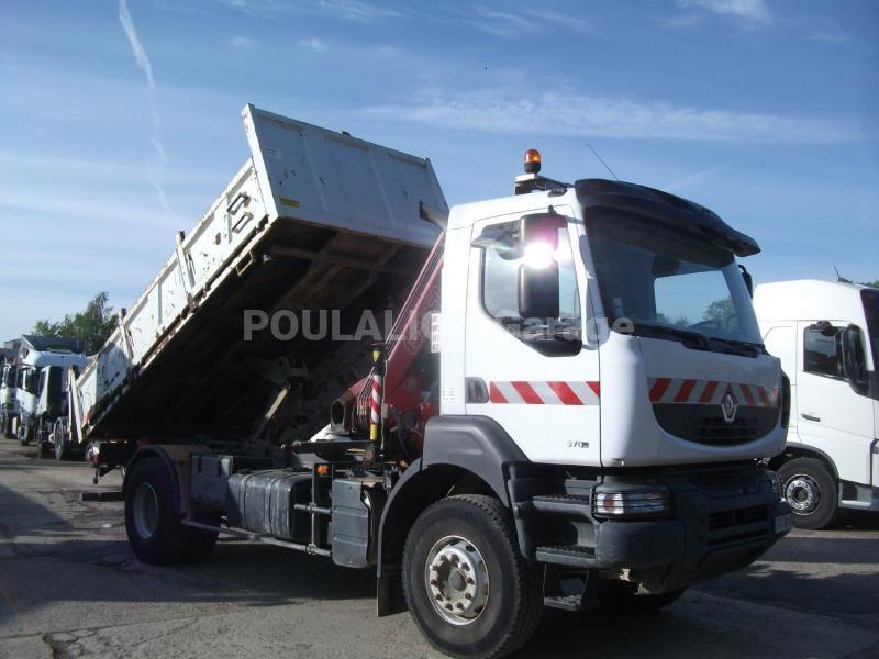 Camion Renault Kerax 370.19 Benne Tri-benne