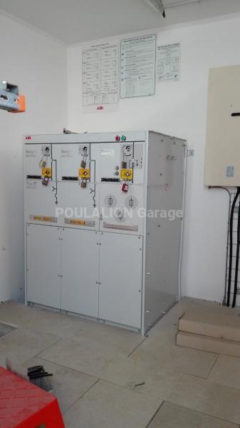 Matériel de chantier ABB poste transformateur Groupe électrogène