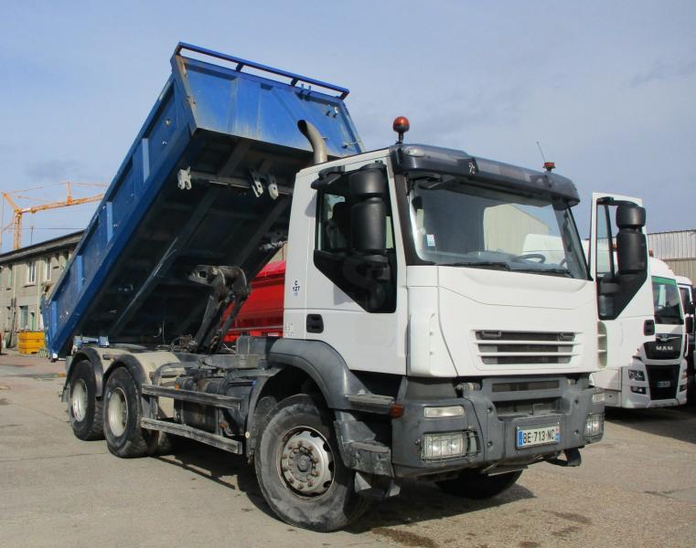 Camion Iveco Eurotrakker 260E36 Benne Bi-benne