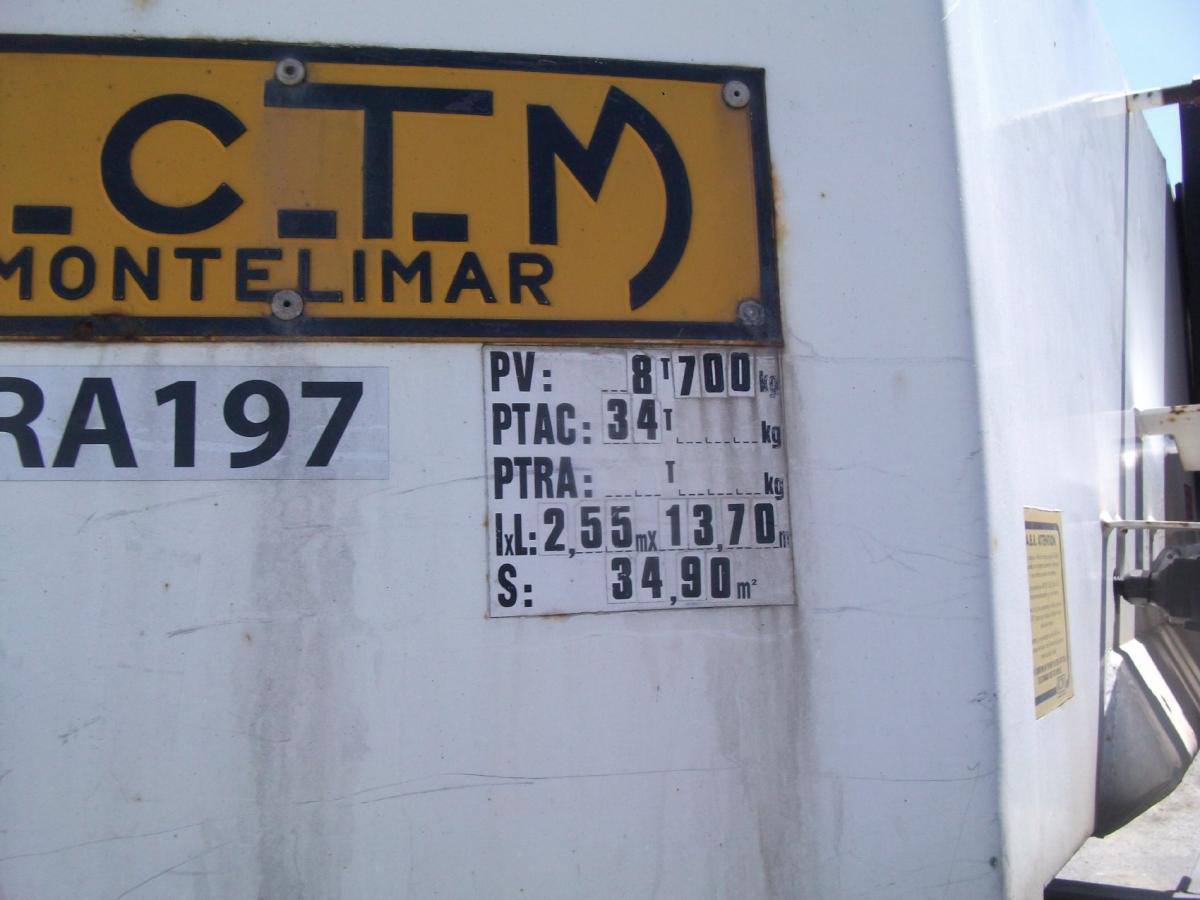 Semi-remorque ACTM S44315 Porte engins
