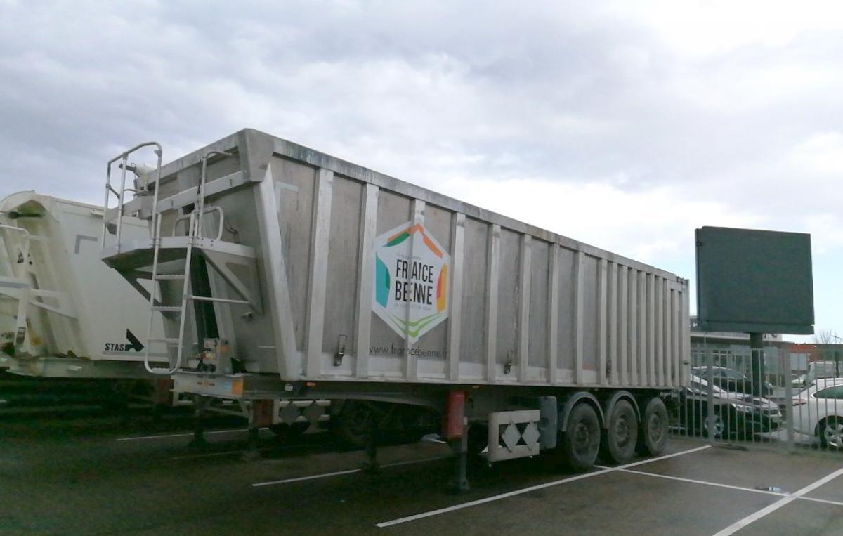 Semi-remorque Benalu Agriliner Benne Benne arrière