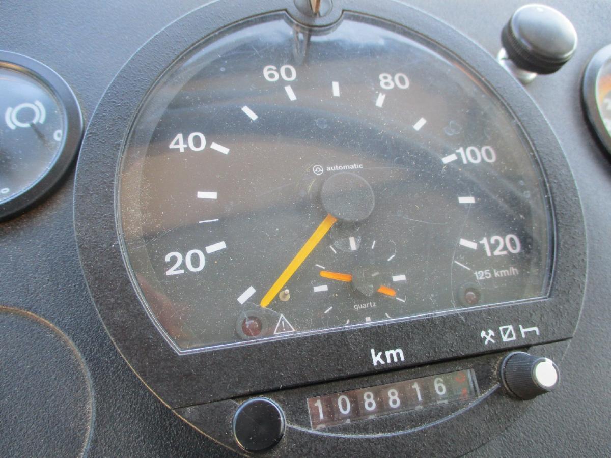 Camion Magirus 120.17 ANW Benne Benne arrière