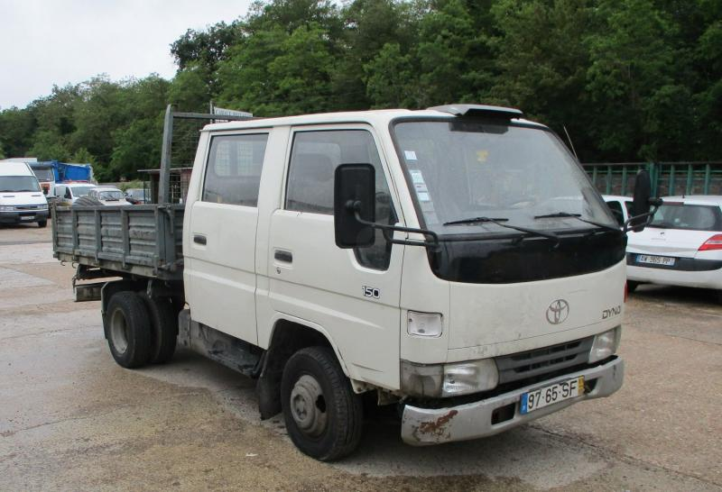 Utilitaire Toyota Dyna 150 Benne Benne arrière
