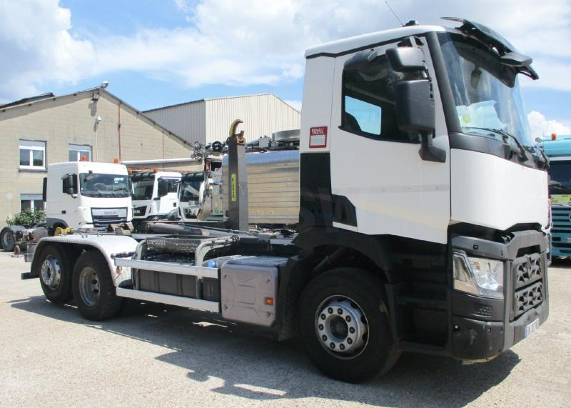 Camion Renault Gamme T 460 P6X2 E6 Polybenne