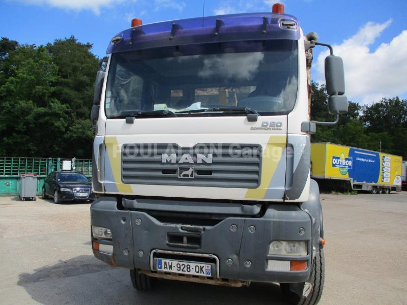 Camion MAN TGA 35.390 Polybenne