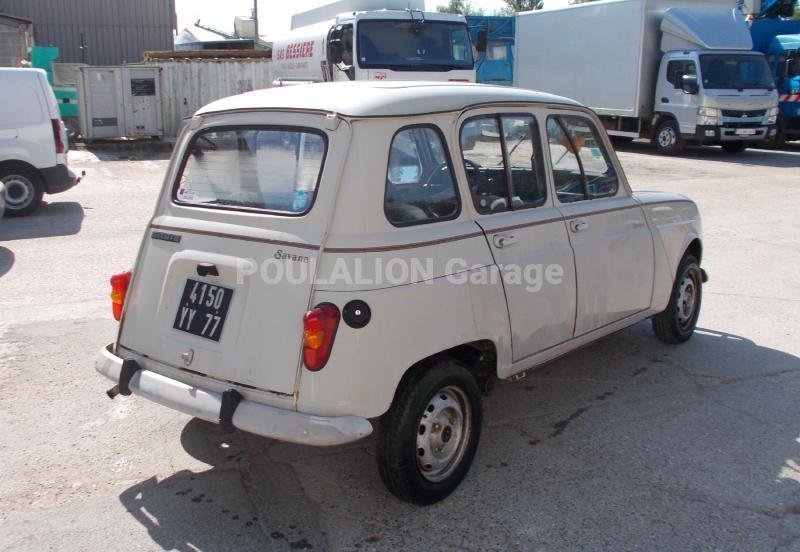 Voiture renault r4 berline garage g rard poulalion for Garage renault garche 57