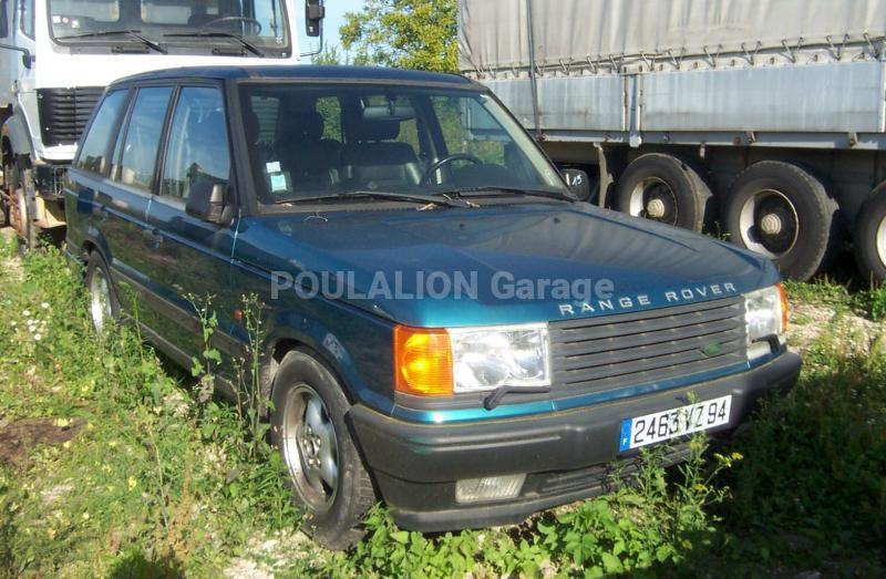 Voiture Land Rover RANGE Tout terrain