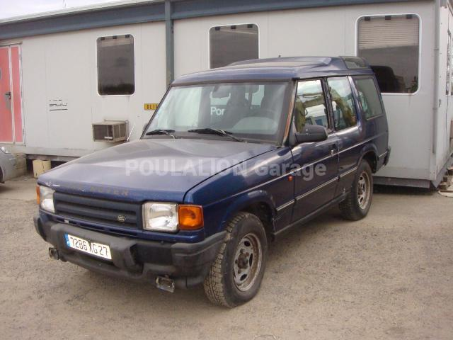 Voiture Land Rover DISCOVERY Tout terrain
