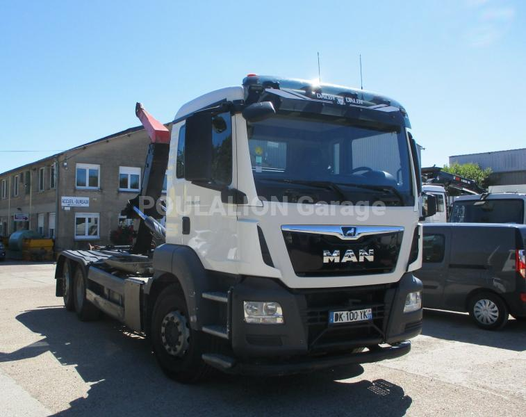 Camion MAN TGS 26.400 Polybenne