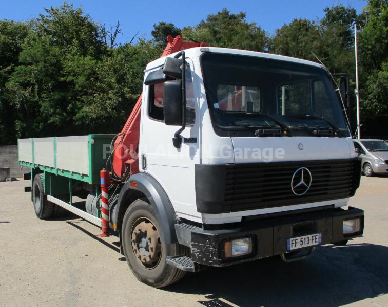 Camion Mercedes SK 1722 Plateau