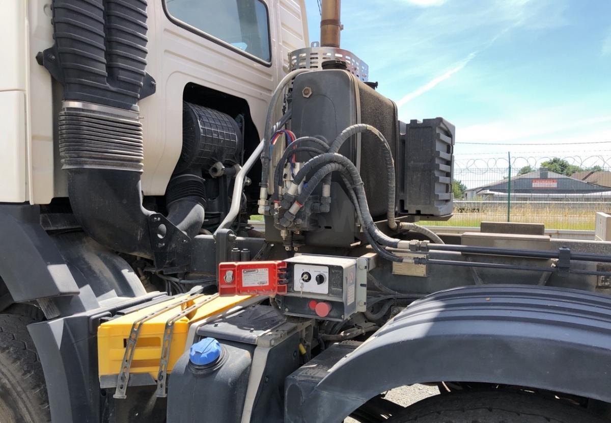 Camion Volvo FMX 500 Benne Benne arrière