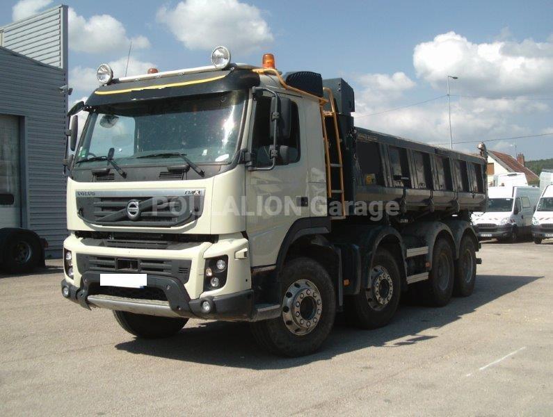 Camion Volvo FMX 450 Benne Bi-benne