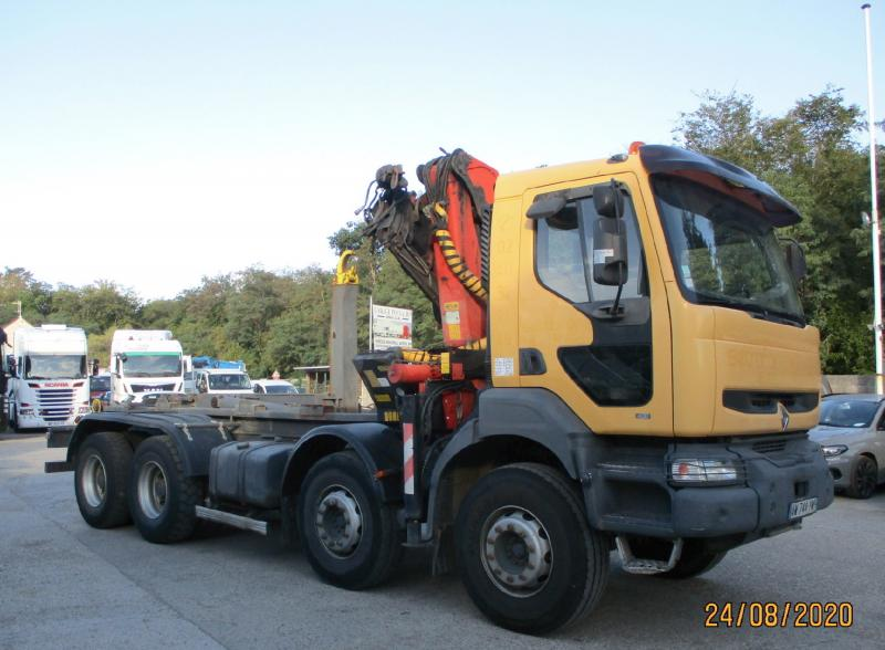Camion Renault Kerax 410 Polybenne