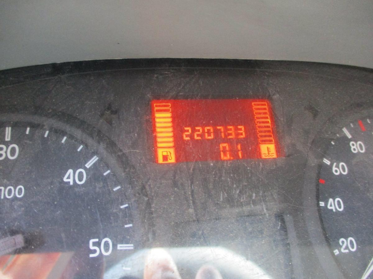 Utilitaire Renault Mascott 120 Rideaux coulissants PLSC