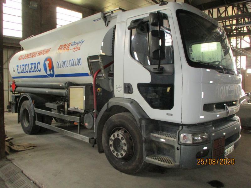 Camion Renault Premium 260 Citerne Hydrocarbures