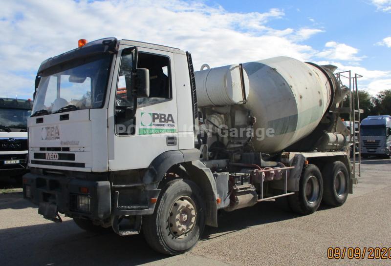 Camion Iveco Eurotrakker 260E34 Malaxeur toupie