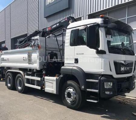 Camion MAN 26.430 26.430 Benne Bi-benne