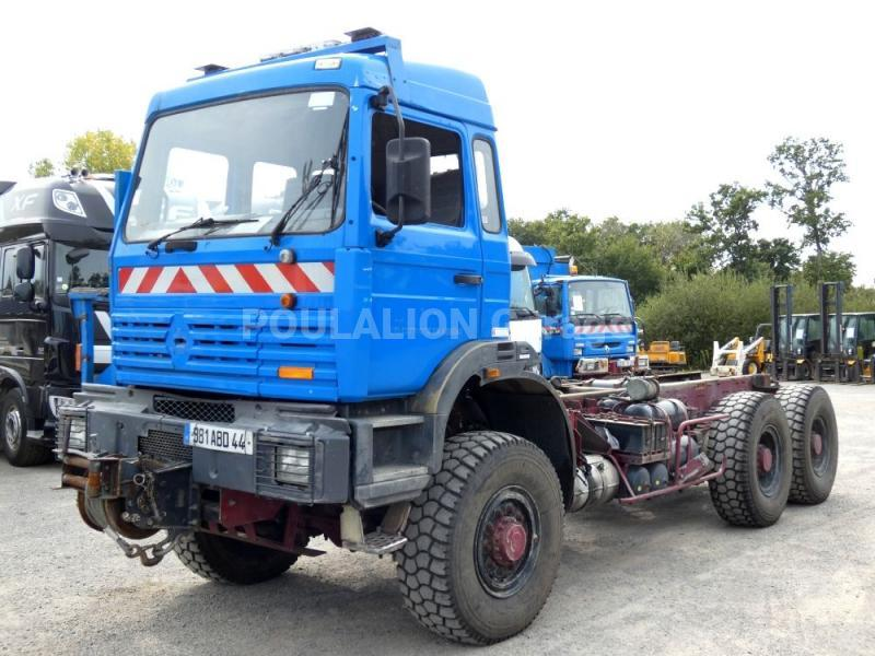 Tracteur THOMAS CHASSIS NU