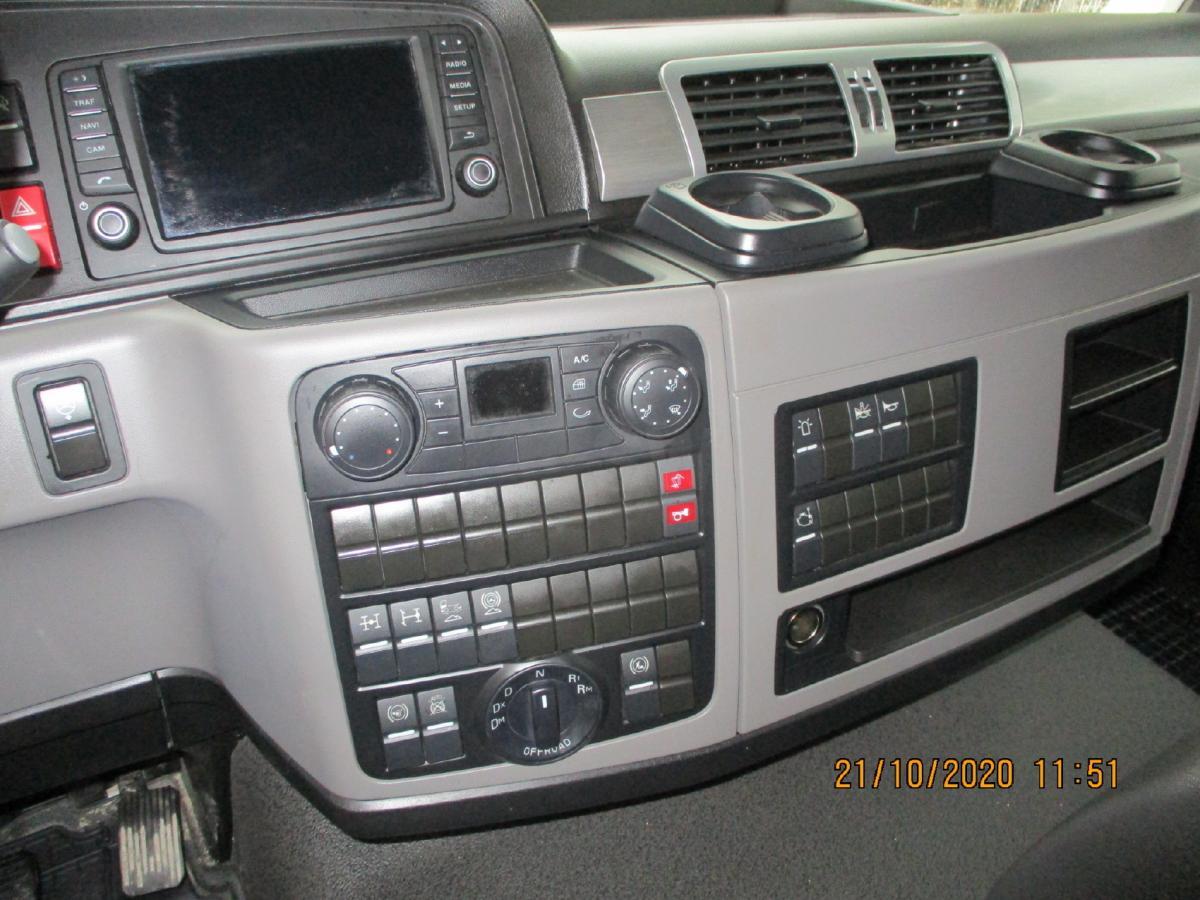 Camion MAN TGS 35.420 Benne Benne arrière