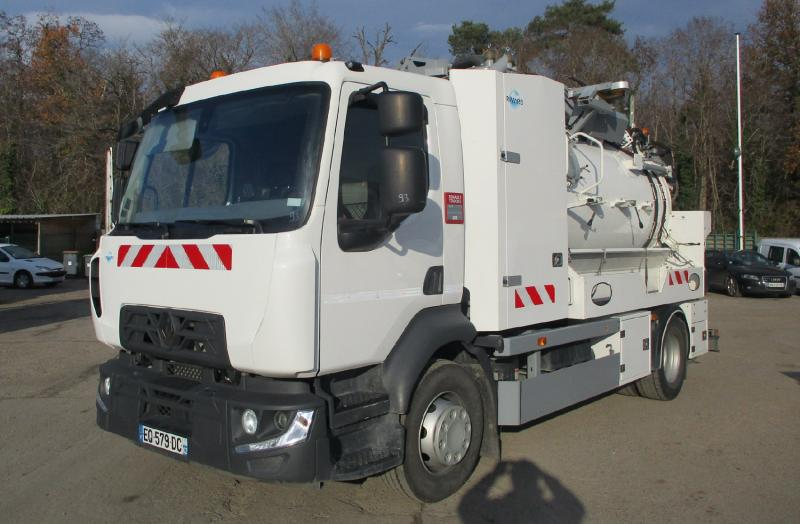 Engin de voirie Renault Midlum 280 Camion hydrocureur