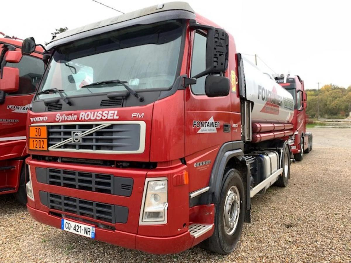 Camion Volvo FM 480 Citerne Hydrocarbures