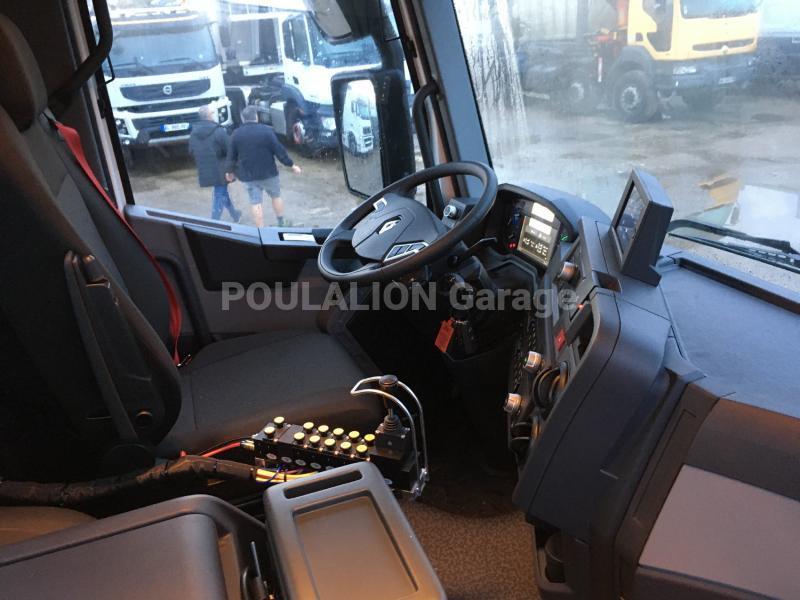 Camion Renault Gamme C C480 P 8X4 K E6 Polybenne