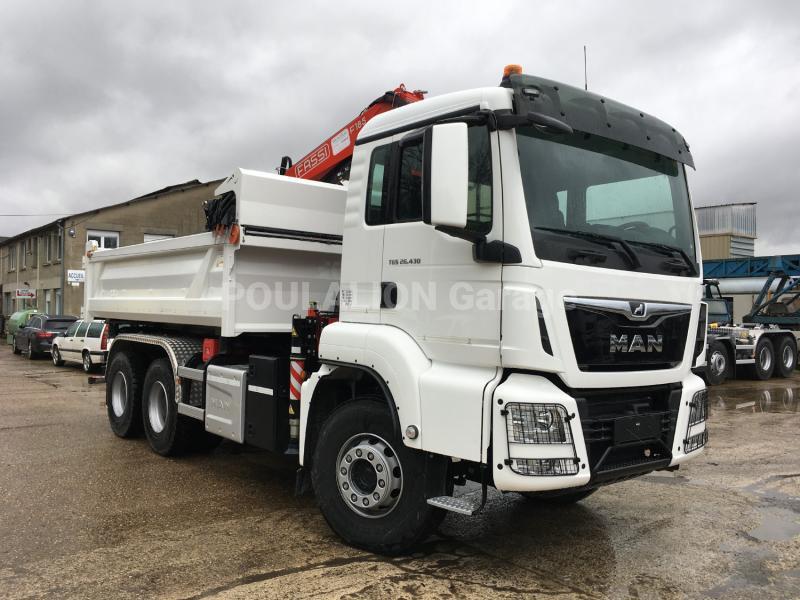 Camion MAN TGS 26.430 Benne Bi-benne