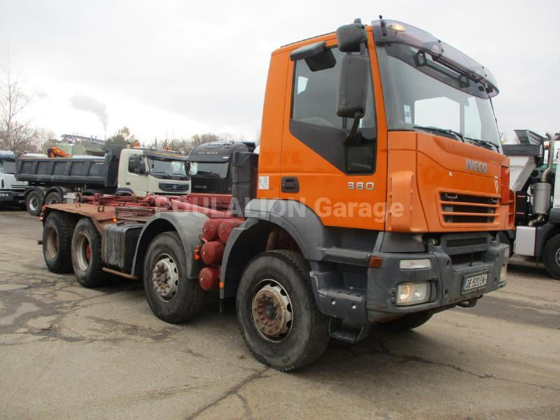 Camion Iveco Eurotrakker MP 340 E 38 Polybenne