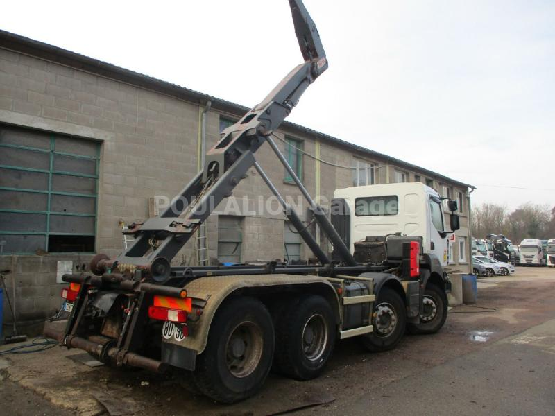 Camion Renault Kerax 450 DXi Polybenne