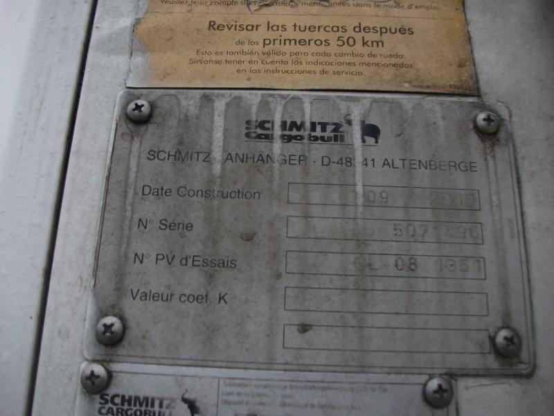 Semi-remorque Schmitz Cargobull Frigo Mono température