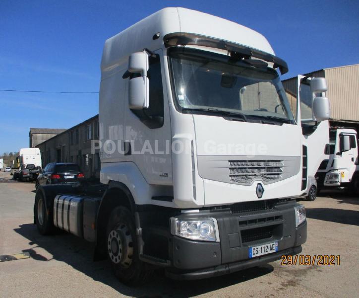 Tracteur Renault Premium Lander 460 DXI 4x4 hydrodrive