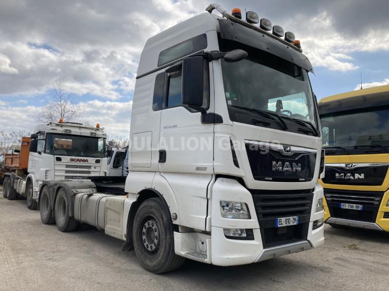 Tracteur MAN TGX 33.580