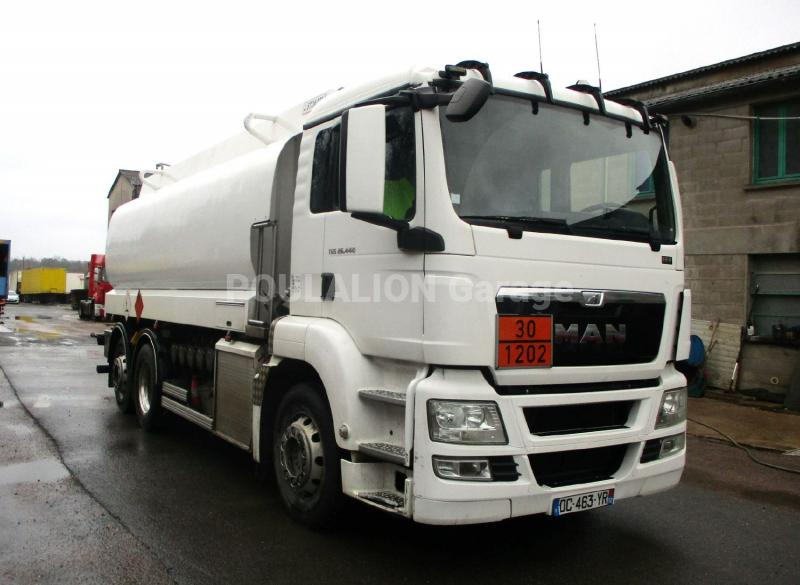 Camion MAN TGS 26.440 Citerne Hydrocarbures