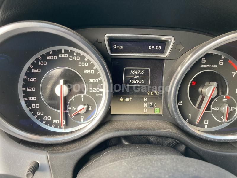 Voiture Mercedes Classe ML 63 AMG Break