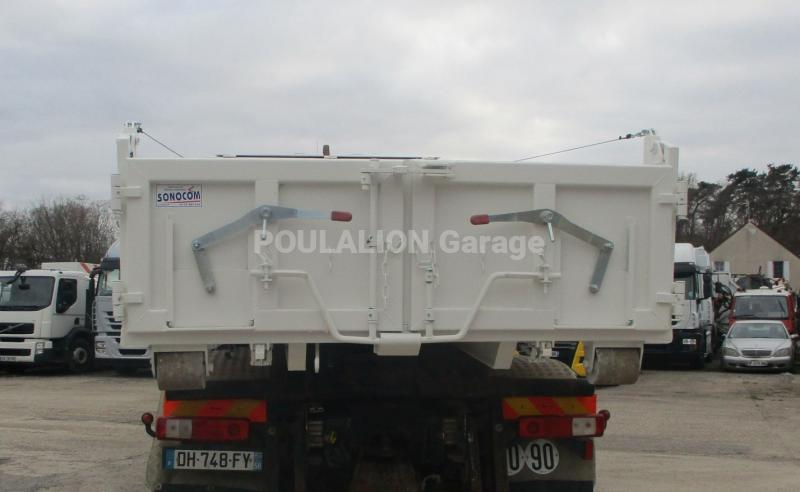 Équipements PL Sonocom 10m3 RENFORCÉ Carrosserie Caisse polybenne