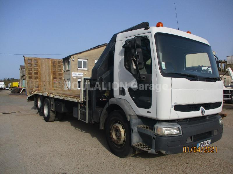 Camion Renault Premium 300 Porte engins