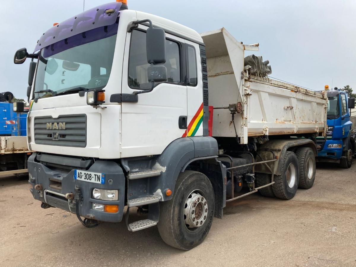 Camion MAN TGA 32.350 Benne Bi-benne