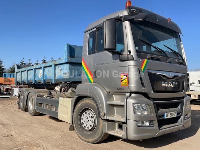 Camion MAN TGA 28.400 Polybenne