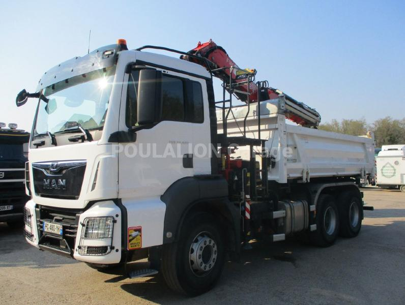 Camion MAN TGS 33.420 Benne Bi-benne