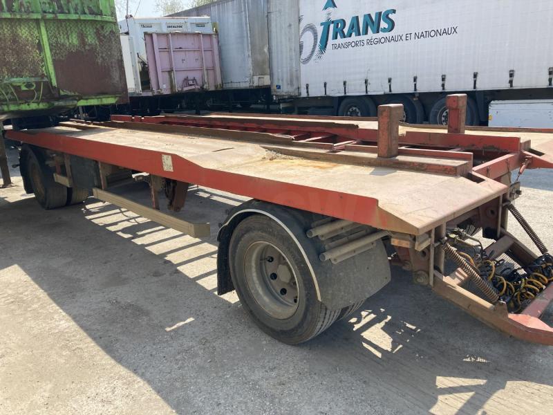 Remorque Samro Porte containers