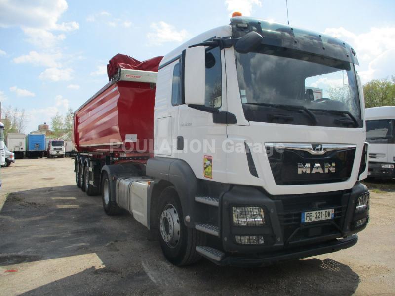 Tracteur MAN TGS 18.500