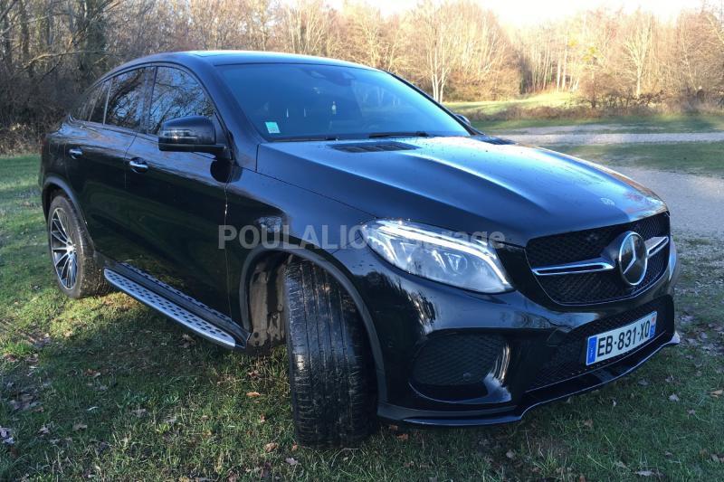 Voiture Mercedes GLE 350D COUPE Coupé