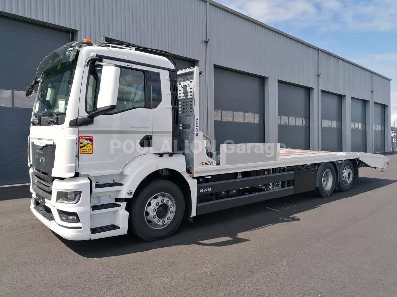Camion MAN TGS 26.430 Porte engins