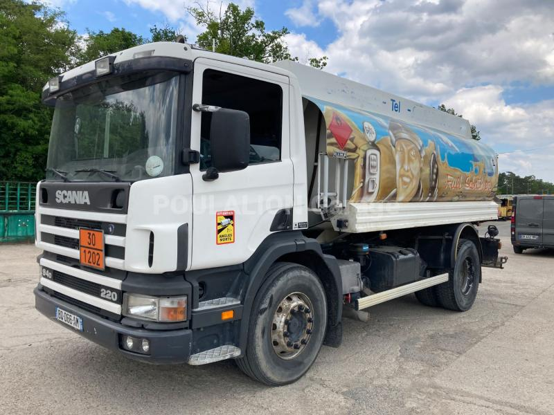 Camion Scania P 94-220 Citerne Hydrocarbures