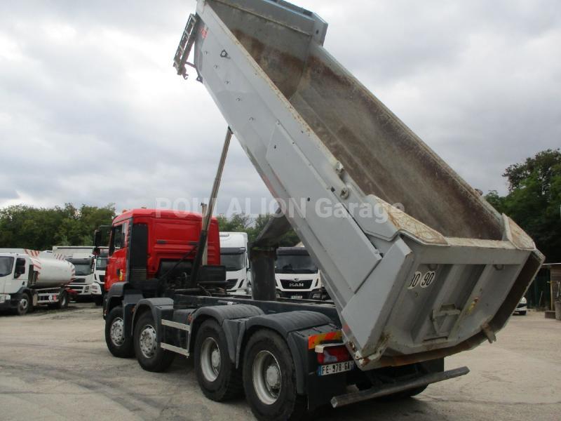 Camion MAN TGA 35.390 Benne Benne arrière