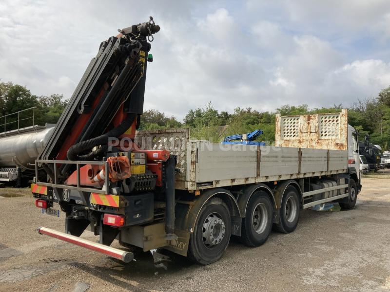 Camion Volvo FMX 410 Plateau